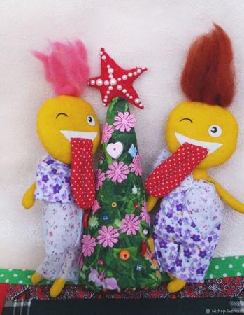 Веселые игрушки Забавные чудики ручной работы на заказ