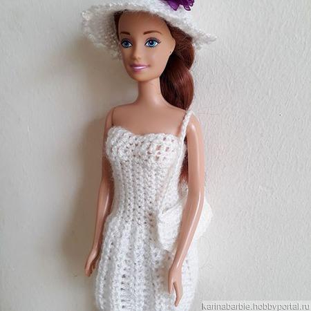 Летний нарядный комплект для Барби ручной работы на заказ