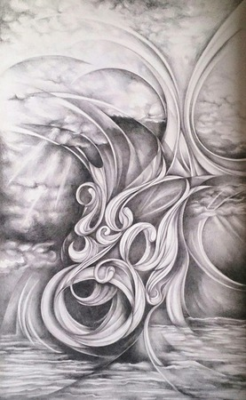 """Картина """"Вечный Ветер"""" ручной работы на заказ"""