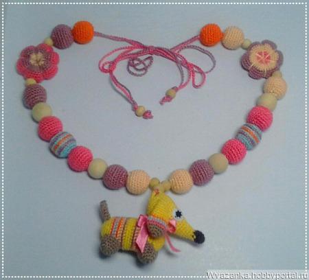 Слингобусы с собачкой ручной работы на заказ
