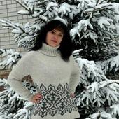 """Мастер-класс свитер, джемпер, платье """"Сказка"""""""