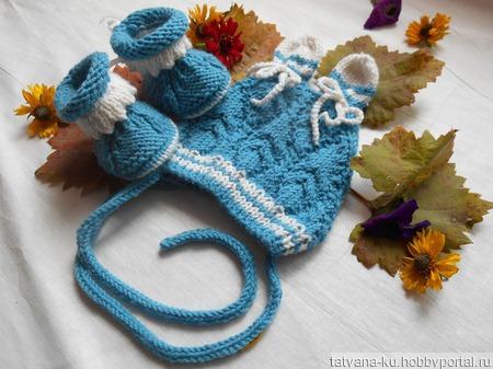 Комплект дл новорожденного ручной работы на заказ