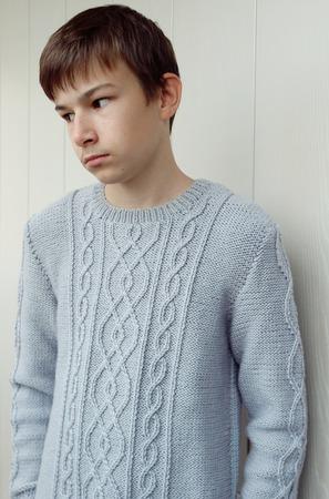 Джемпер для мальчика ручной работы на заказ