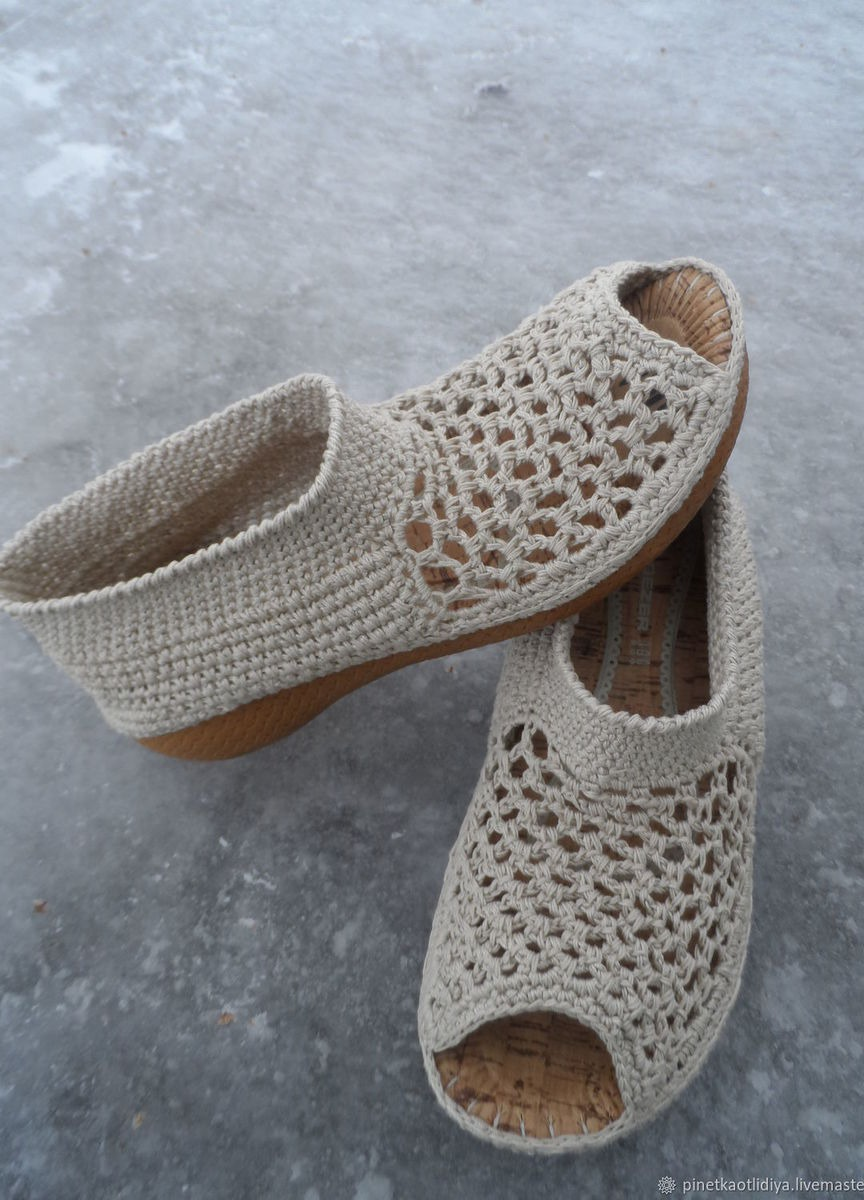 женские вязаные балетки купить в интернет магазине Hobbyportalru