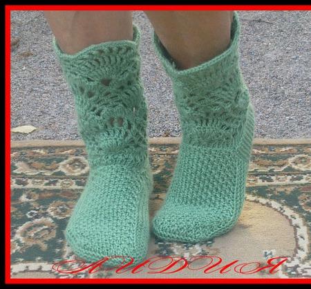 Вязаные носки женские ручной работы на заказ