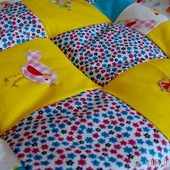 Подушка лоскутная детская