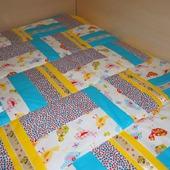 Лоскутное одеяло детское Мой птенчик