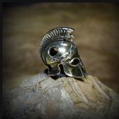 """Бусина """"Греческий шлем"""" для темляков или браслетов"""