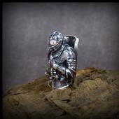 """Бусина """"Рыцарь"""" по игре Dark Souls для темляков или браслетов"""