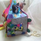 Детский развивающий домик - сказка ТЕРЕМОК!