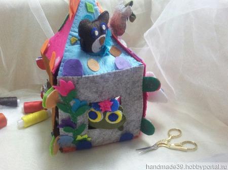 Детский развивающий домик - сказка ТЕРЕМОК! ручной работы на заказ