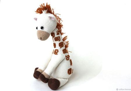 """Жираф. Жираф вязаный """"Степа"""". Вязаный жираф (жирафы/жирафики). ручной работы на заказ"""