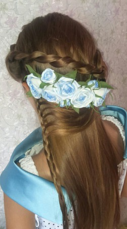 Украшения для волос гребешки ручной работы на заказ