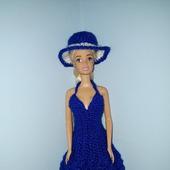 Элегантное платье и шляпка