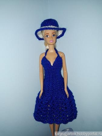 Элегантное платье и шляпка ручной работы на заказ