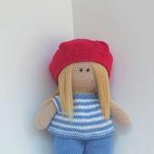 Кукла Алиса-художница.