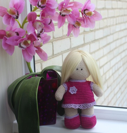 Кукла Алиса-ягодка ручной работы на заказ