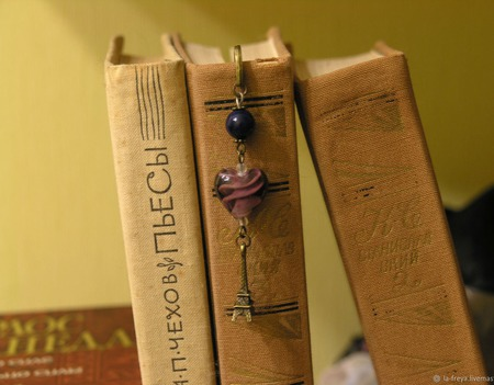 Уверенная - закладка для книг ручной работы на заказ