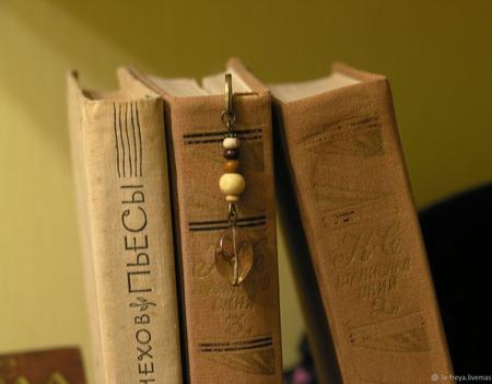 Милая - закладка для книг ручной работы на заказ