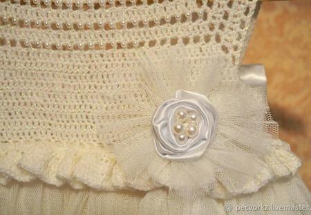 Шикарное платье для девочки ручной работы на заказ