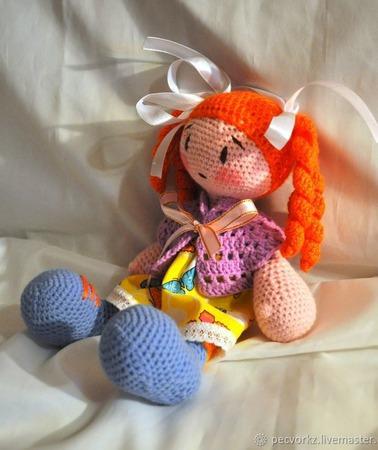 Вязанная куколка ручной работы на заказ