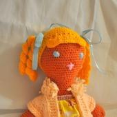 Вязанная куколка Марго