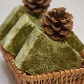 """Натуральное мыло """"Хвойный лес"""" с хлорофилло-каротиновой пастой"""