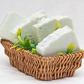 """Мужское мыло соляное """"Ментоловое"""", натуральное  мыло с нуля"""