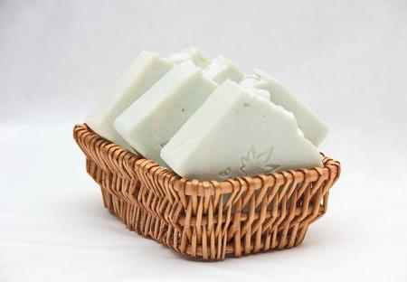 """Мужское мыло соляное """"Ментоловое"""", натуральное  мыло с нуля ручной работы на заказ"""