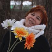 """Снуд- шарф белый """"Первый снег"""" (шерсть)"""