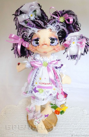 Текстильная кукла Домовушка Хозяюшка Лада ручной работы на заказ