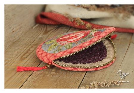 Футляр для наушников Лачо дром, круглый кошелек ручной работы на заказ