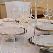 Номерки на свадебный стол