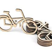 """Заготовка """"Велосипед"""" для творчества, декорирования и рукоделия."""