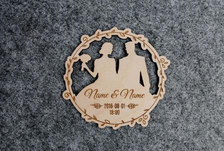 Пригласительные на свадьбу ручной работы на заказ