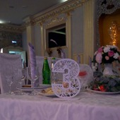 Номерки на свадебный стол.