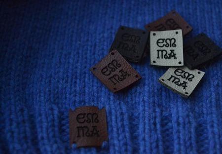 Кожаные бирки Etnotun ручной работы на заказ