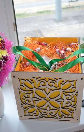 Подарочная коробка Etnotun ручной работы на заказ