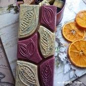 Цветной шоколад ручной работы