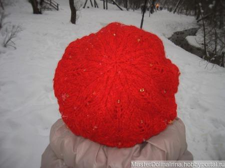 Берет *Foliage Hat* ручной работы на заказ