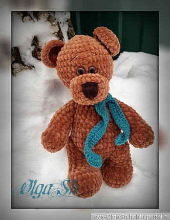 Медвежонок Кеша ручной работы на заказ