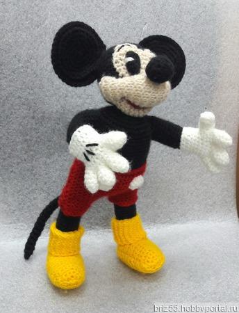 Минни и Микки Маус, мягкая вязаная игрушка ручной работы на заказ