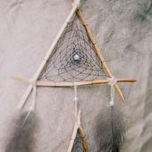 """Ловец снов """"Треугольный"""""""