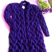 Длинный вязаный кардиган Knit by Heart