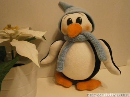 Пингвин ручной работы на заказ