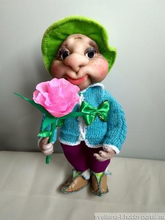 Кукла сувинирная ручной работы на заказ