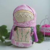 Кукла славянская обережная Весняна, кукла в подарок,зерновушка, весна