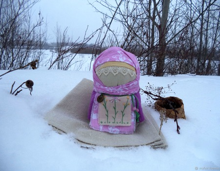 Кукла славянская обережная Весняна, кукла в подарок,зерновушка, весна ручной работы на заказ