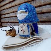 Кукла народная Акулинушка, кукла в подарок,зерновушка,крупеничка,весна