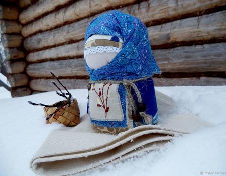Кукла народная Акулинушка, кукла в подарок,зерновушка,крупеничка,весна ручной работы на заказ